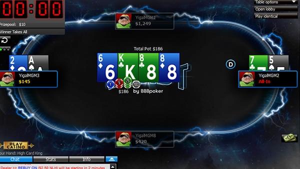 Описание Blast покера