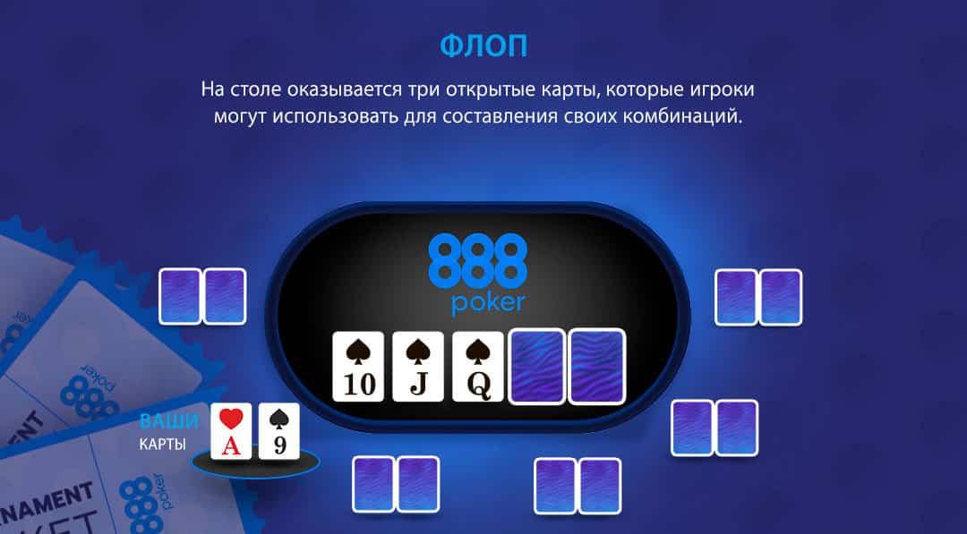 флоп 888 покер