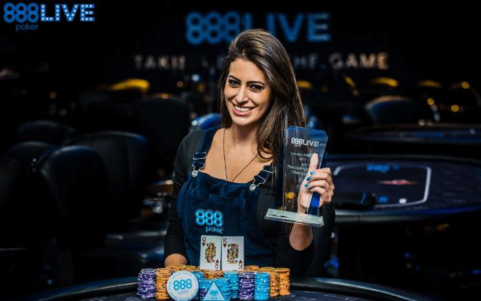Вивиан Салиба присоединилась к 888 Покер