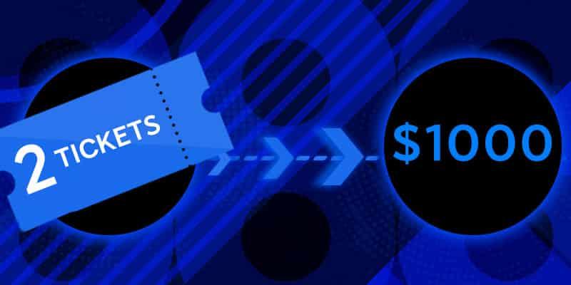 2 Билета по $1000 в руме 888poker