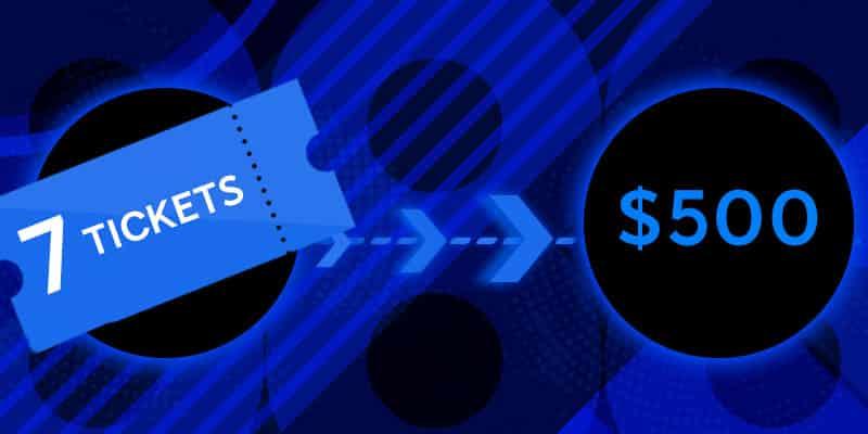 7 Билетов по $500 в руме 888poker