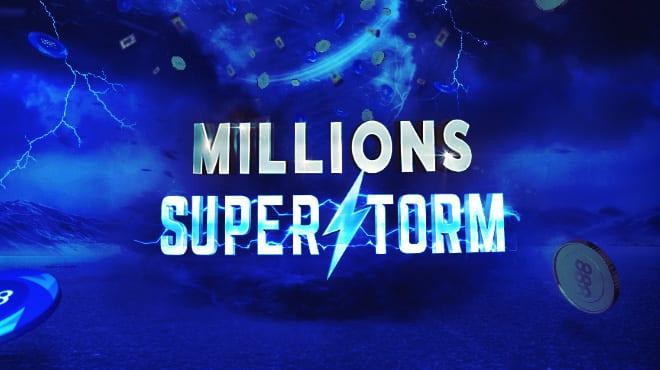 Millions Superstorm на 888poker