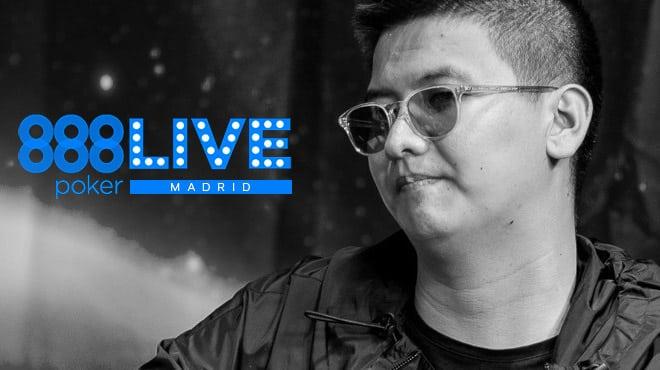 Лин Руида —чип-лидер дня 1С Главного события LIVE Madrid