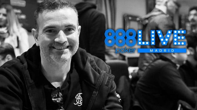 Марко Д'Амико — чип-лидер дня 2 Главного События LIVE Madrid