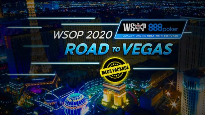Мега-пакеты WSOP 2020 от 888poker