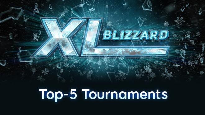 Топ-5 турниров XL Blizzard