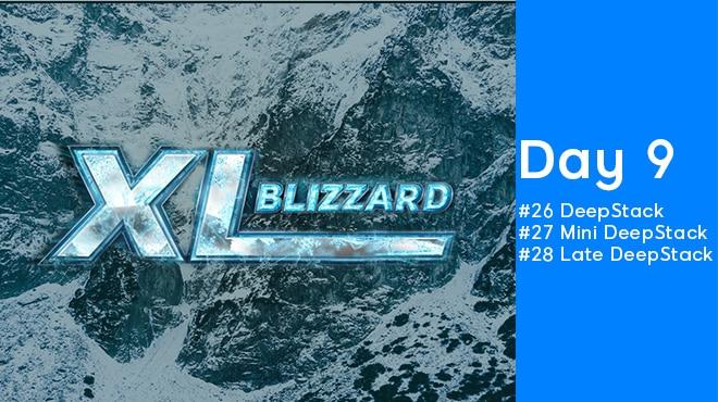 Девятый день XL Blizzard