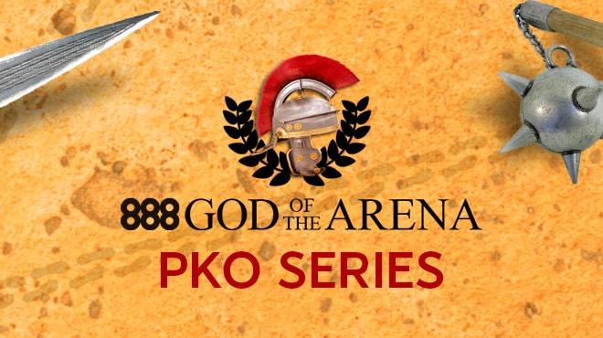 В апреле начнется крупная серия God OF Arena PKO на 888poker