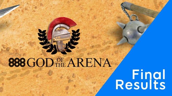 Финальные результаты PKO-серии God Of Arena 2020 на 888poker