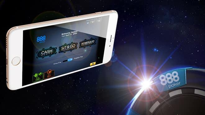 888poker запустили новое мобильное приложение!